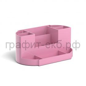 Подставка настольная ErichKrause Victoria Pastel розовый 51481