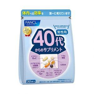 FANCL Комплекс витаминов для мужчин после 40 лет