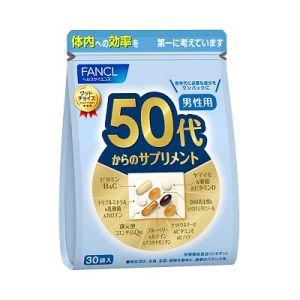 FANCL Комплекс витаминов для мужчин после 50 лет