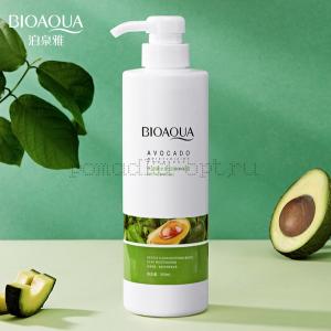 Оригинал Шампунь с экстрактом авокадо BioAqua Avocado Anti Dandruff Shampoo 500мл