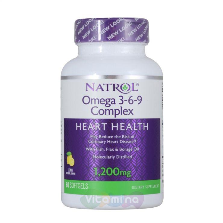 Natrol Омега 3-6-9 комплекс