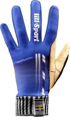 Перчатки лыжные Legend Slim Gold