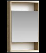 Зеркальный шкаф Aqwella Сити 50 дуб балтийский SIT0405DB