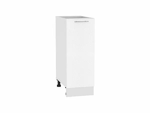 Шкаф нижний Валерия Н300 (белый металлик)