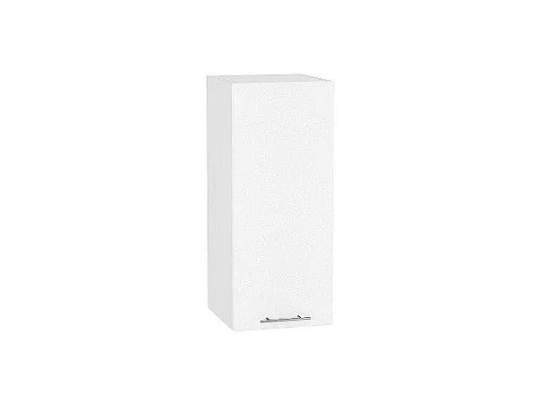 Шкаф верхний Валерия В309 (белый металлик)