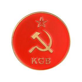 Значок (брошь) KGB