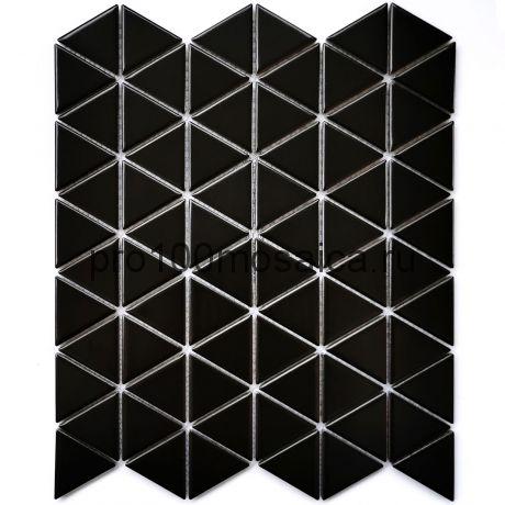 Reno Black matt Мозаика серия PORCELAIN,  размер, мм: 252*291*6
