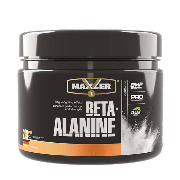 Maxler Beta-Alanine powder 200 гр  (40 порций)