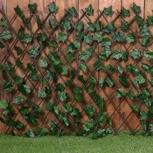 Ограждение декоративное, 200 ? 120 см, «Лист клёна», Greengo