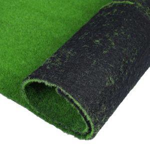 Мох искусственный, декоративный, полотно 1 ? 1 м, зелёный