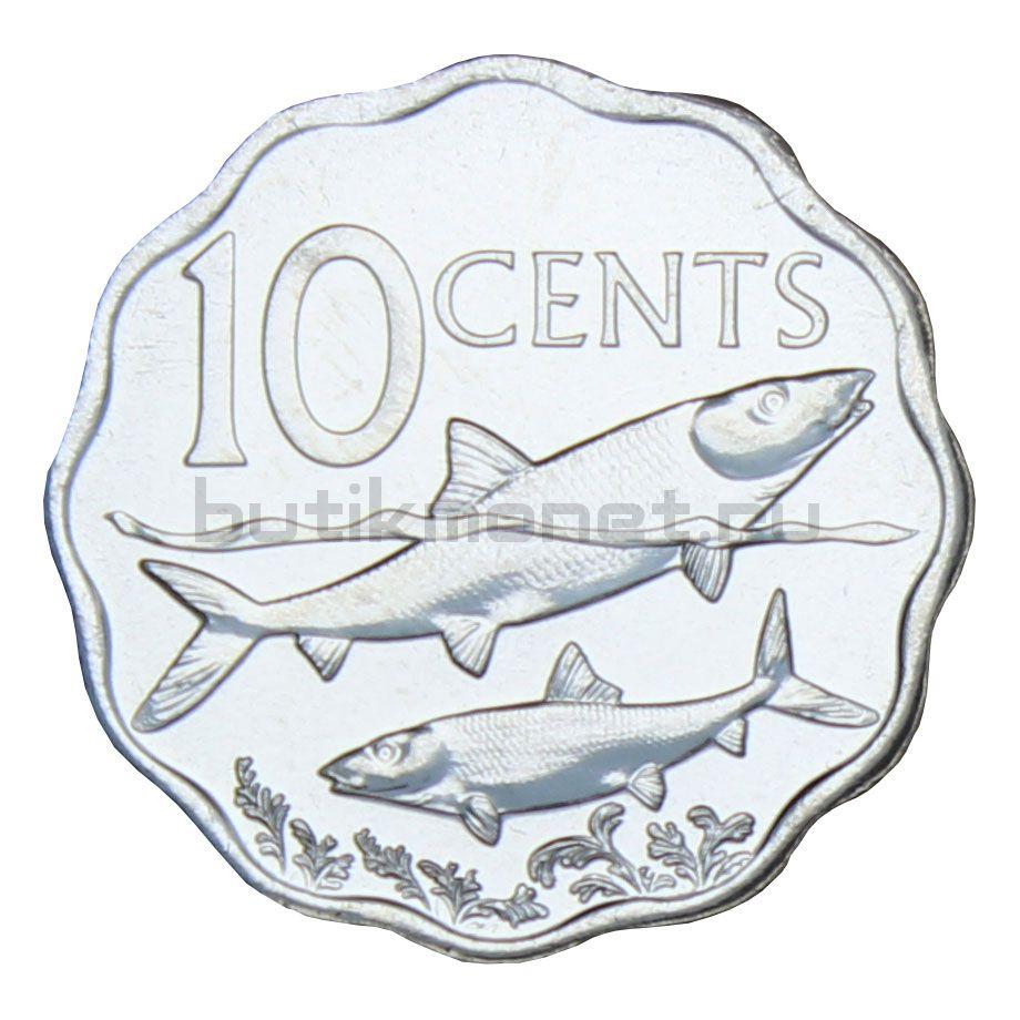 10 центов 2010 Багамы