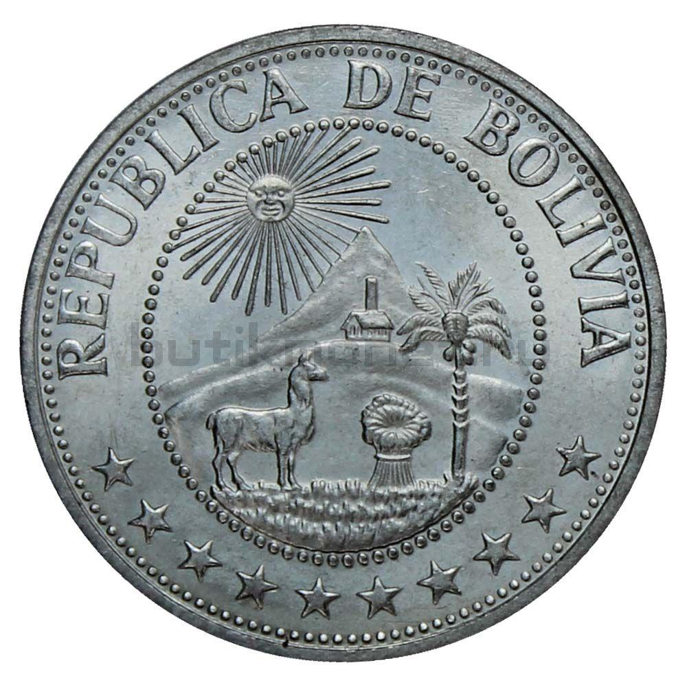 1 песо 1980 Боливия