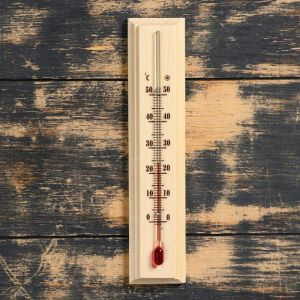 "Термометр комнатный ""Уют"" (от 0°C +50°C) 20х4.2х1.3 см 5392432"