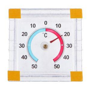 Термометр механический, уличный, квадратный, 8 х 8 см 5354897