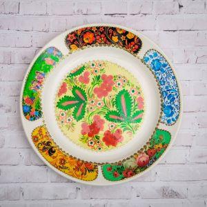 Тарелка декоративная «Рябина», D=20 см   4074821
