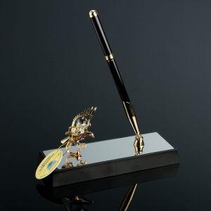 Ручка на подставке «Орёл», 16?6?19 см, с кристаллами Сваровски 4271697