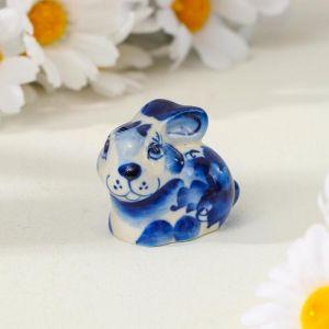 "Сувенир керамика ""Кролик"" 4,5х3,5 см 2330665"