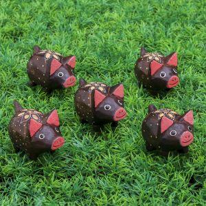 "Набор сувенирный ""Свинки розовые ушки"" 23х6х5 см   3370328"