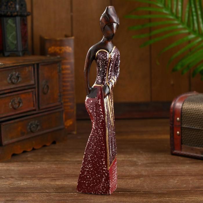 """Сувенир из дерева """"Китра"""" 7х5х30 см   5013993"""