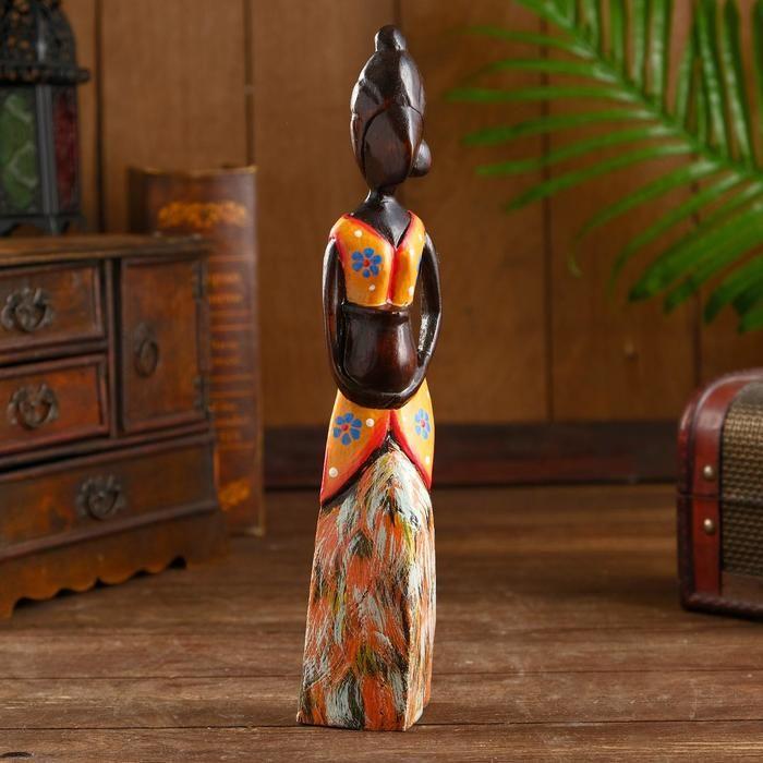 """Сувенир из дерева """"Нирмала"""" 7х5х30 см   5014002"""