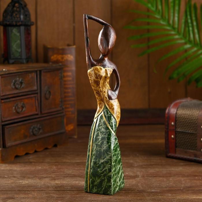 """Сувенир из дерева """"Пати"""" 7х5х30 см   5014004"""