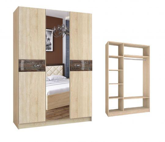 Шкаф 3-х дверный Мадлен