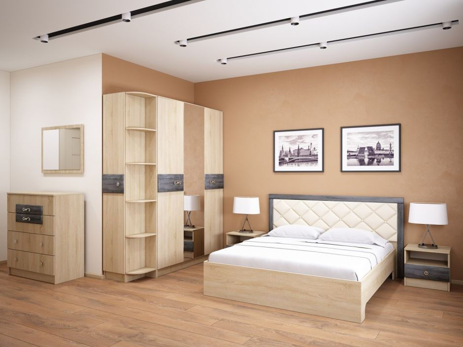 Спальня Мадлен (вариант 1)