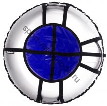 Тюбинг Hubster Ринг Pro серый-синий 110 см