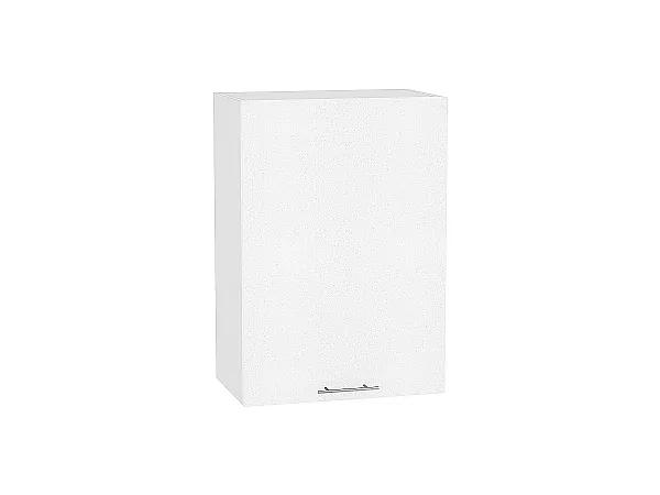 Шкаф верхний Валерия В600-Ф46 (белый металлик)