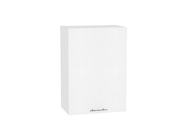Шкаф верхний Валерия В509 (белый металлик)