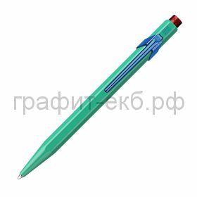 Ручка шариковая Caran d'Ache Office 849 Claim your style2 Veronese Green 849.535