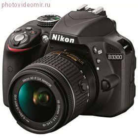 Зеркальный фотоаппарат Nikon D3300 18-55 Kit