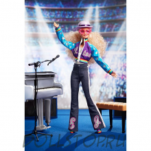 Коллекционная кукла Барби Элтон Джон - Elton John Barbie Doll  2020 GHT52