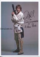 Автограф: Марк Хэмилл. Звёздные войны: Эпизод 4 - Новая надежда
