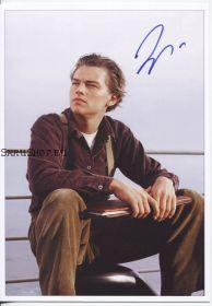 Автограф: Леонардо ДиКаприо. Титаник