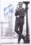 "Автограф: Джордж Лэзенби. ""Бондиана"". ""Джеймс Бонд"". ""Агент 007"""