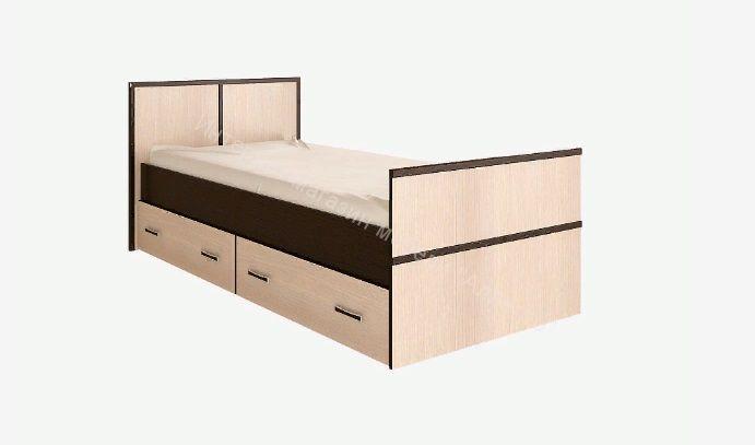 """Кровать """"Сакура"""" с ящиками 900*2000"""