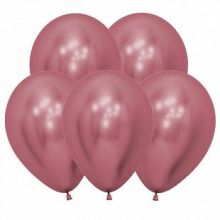Рефлекс Розовый, (Зеркальные шары), 50 шт