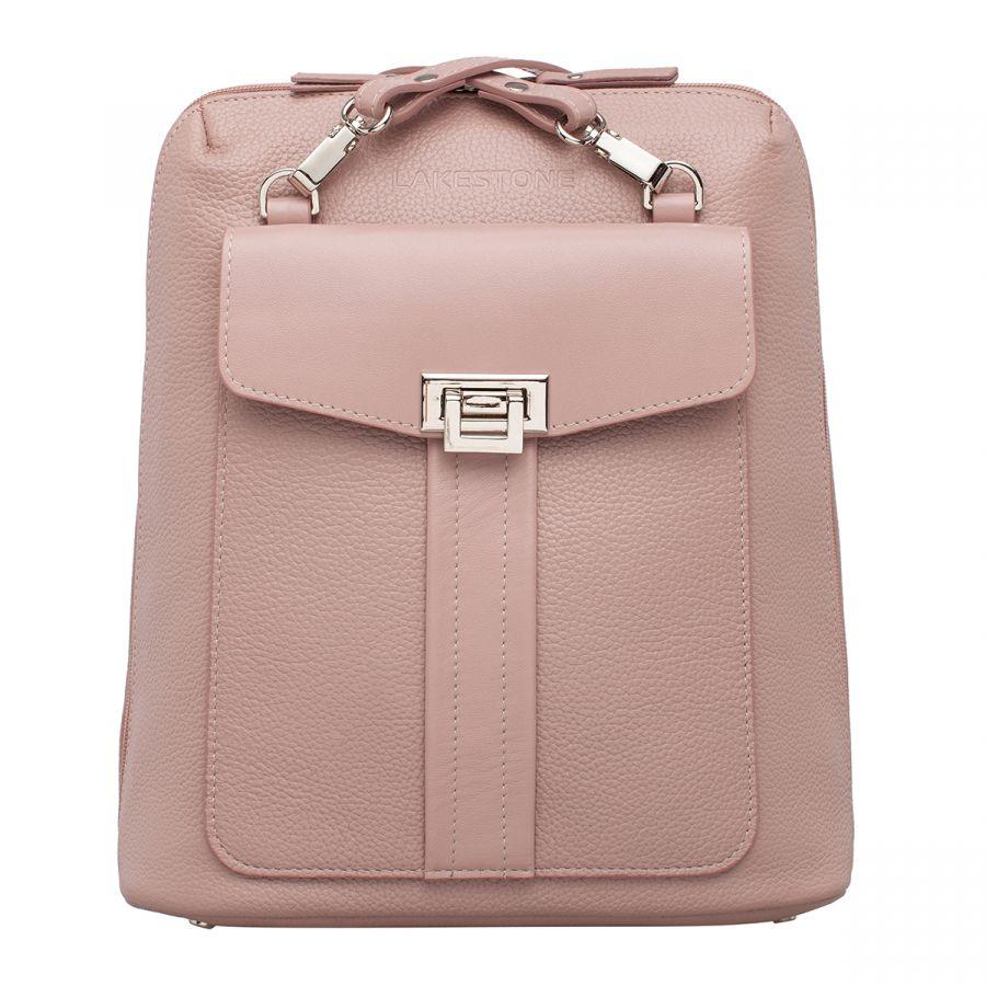 Женский кожаный рюкзак Lakestone Penrose Ash Rose