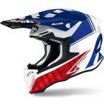 Airoh Twist 2.0 Tech Blue Gloss шлем внедорожный