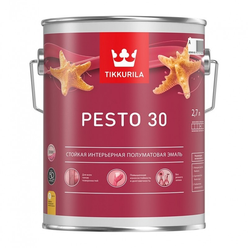 Евро Песто 30 краска полуматовая А 0,9л 700001170