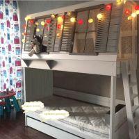 Кровать двухъярусная Домик Village