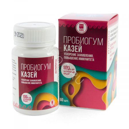 Пробиогум Казей (60 таблеток)