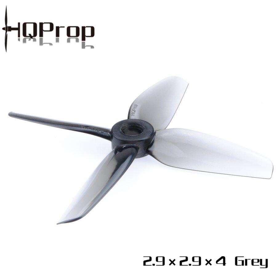 Пропеллеры HQProp 2.9X2.9X4 четырёхлопастные (2 пары)
