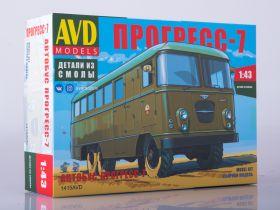 Сборная модель Штабной автобус Прогресс-7