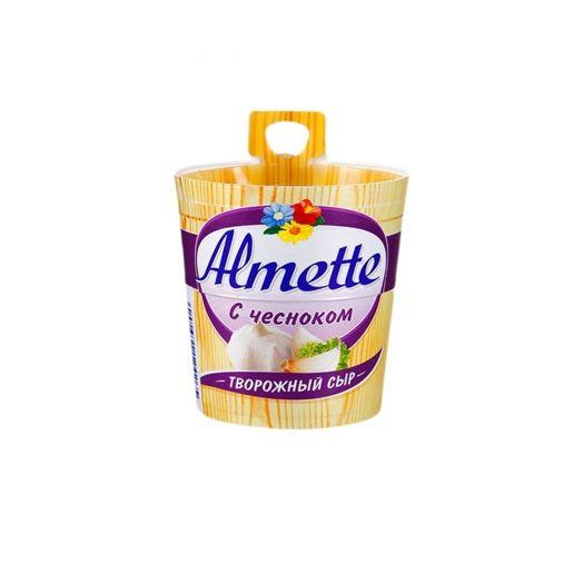 Сыр Альметте творожный чеснок 60% 150г
