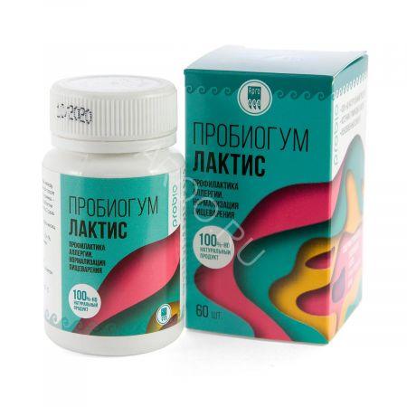 Пробиогум Лактис (60 таблеток)