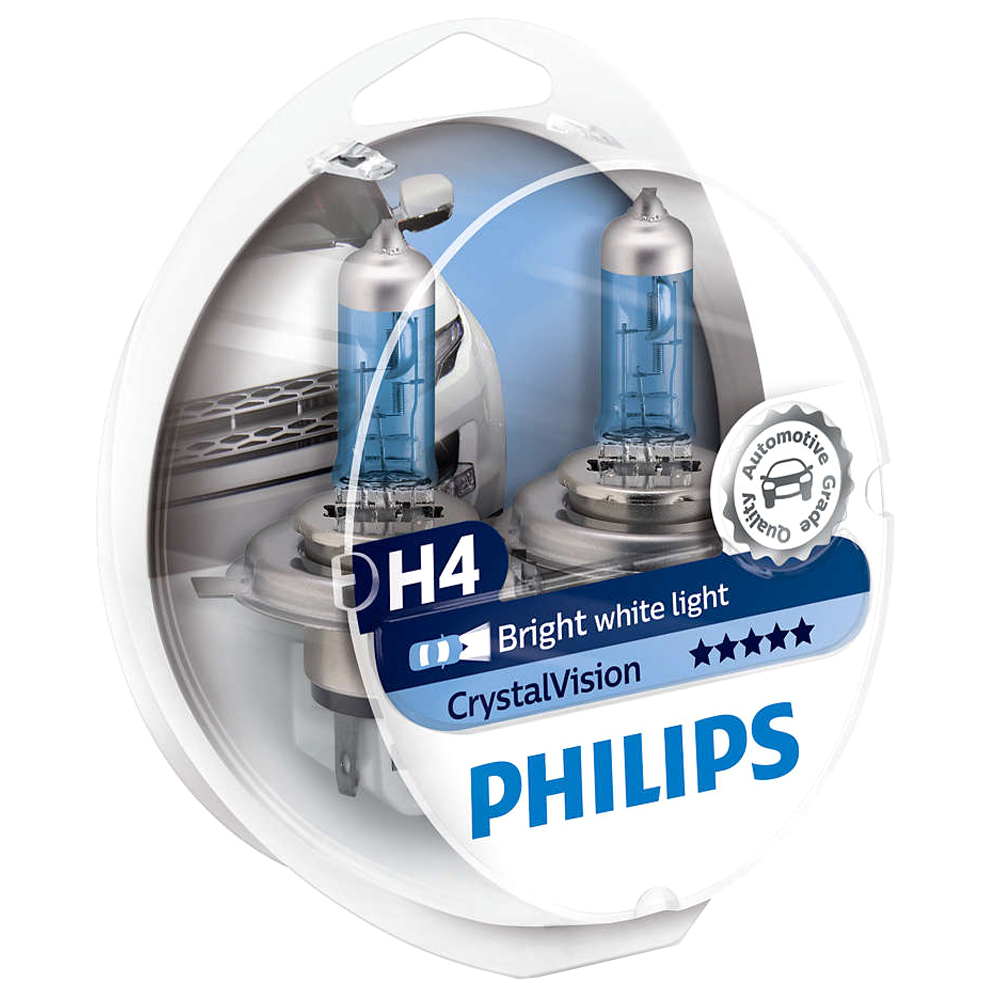 Philips H4 CrystalVision