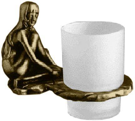 Стакан для щеток Art&Max Juno AM-0714-B ФОТО