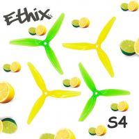 Купить пропеллеры Ethix S4 Lemon Lime трёхлопастные (2 пары) интернет магазин для FPV пилотов QUADRO.TEAM